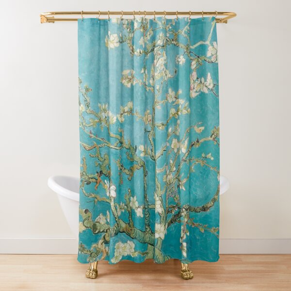 Vincent Van Gogh Almond Blossoms at St. Remy Shower Curtain