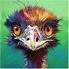 «Emu en verde» de Jos Coufreur