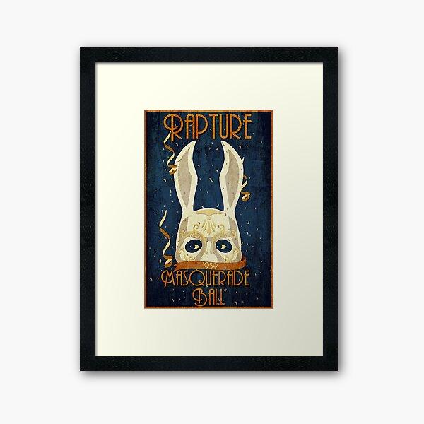 Rapture Masquerade Ball 1959       Framed Art Print