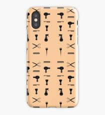 hairdresser hairdresser hairdresser trimmed beard trimmer iPhone Case