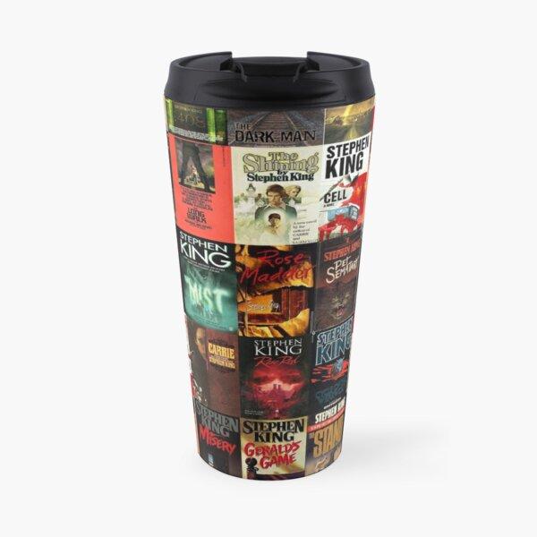 Stephen King Book Cover Collage Travel Mug