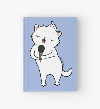 karaoke Cat Hardcover Journal