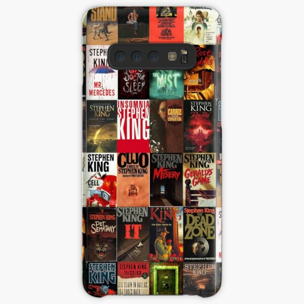 Stephen King Book Cover Collage Samsung Galaxy Snap Case