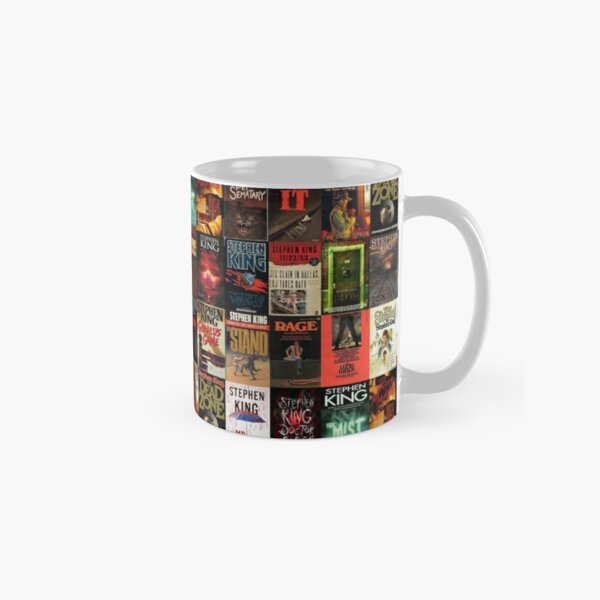 Stephen King Book Cover Collage Classic Mug