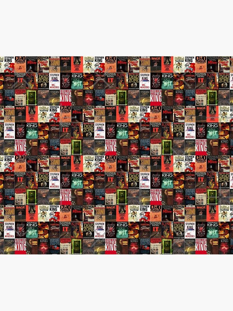 Collage de portada de libro de Stephen King de saminicosia