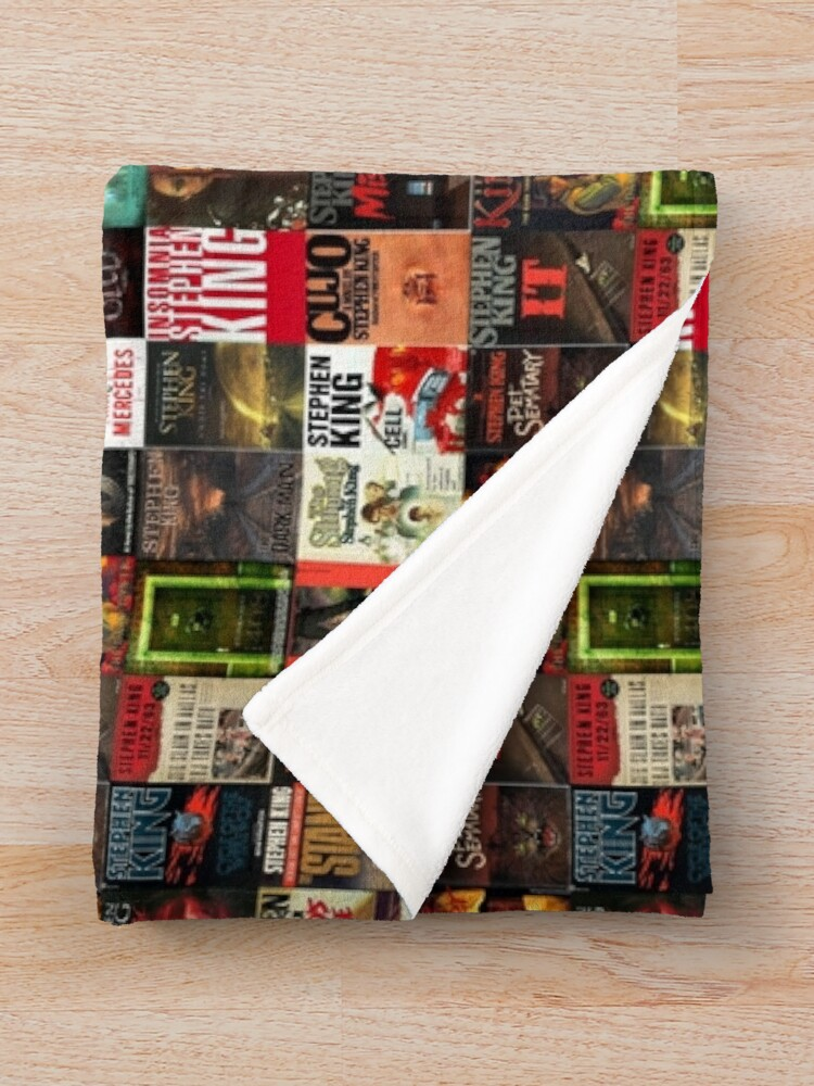 Vista alternativa de Manta  Collage de portada de libro de Stephen King