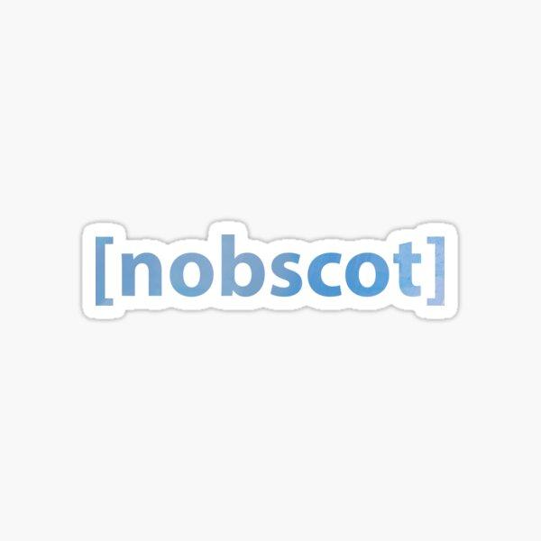 Nobscot, Massachusetts  Sticker