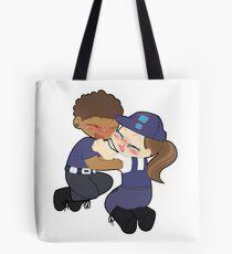Polizeikadetten-Lesben Tote Bag