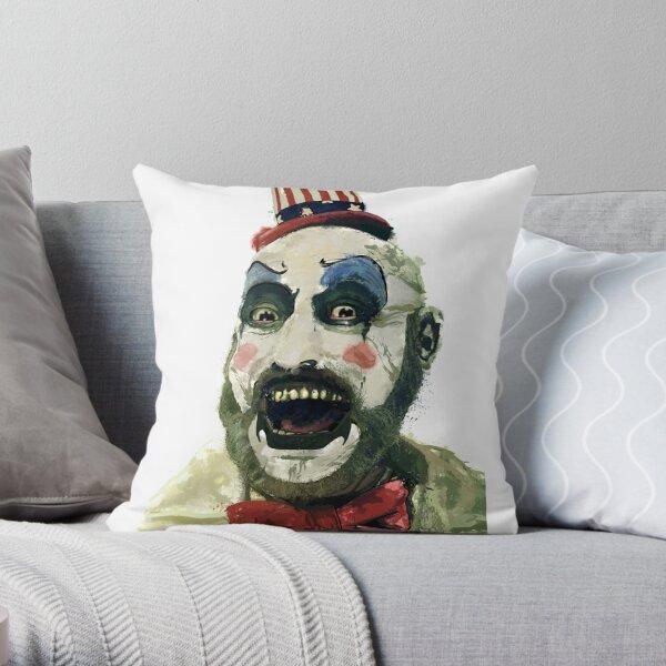 Captain Spaulding Sid Haig Watercolour Fan Art Throw Pillow