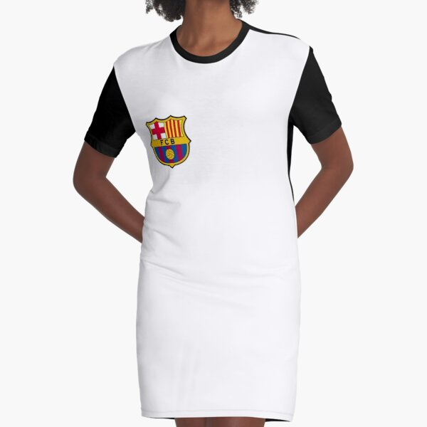 FC Barcelona Graphic T-Shirt Dress