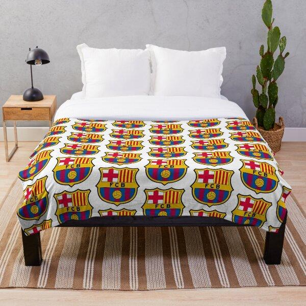 FC Barcelona Throw Blanket