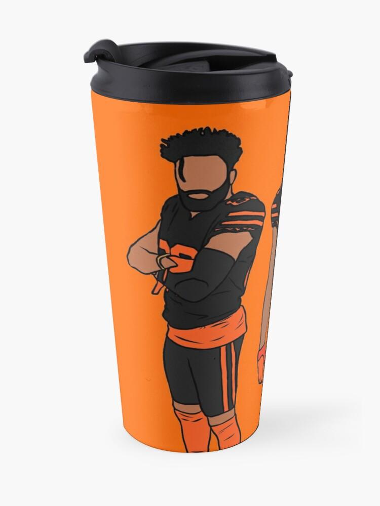 Alternate view of Juice x OBJ (Blaze Orange) Travel Mug