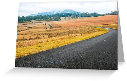 Road out in the country by Rob D