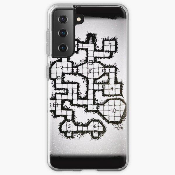 Old School Dungeon 001 Samsung Galaxy Soft Case