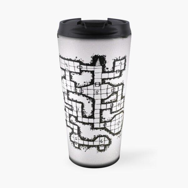 Old School Dungeon 001 Travel Mug