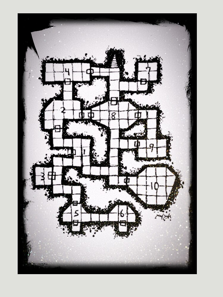 Old School Dungeon 001 by TFCreative