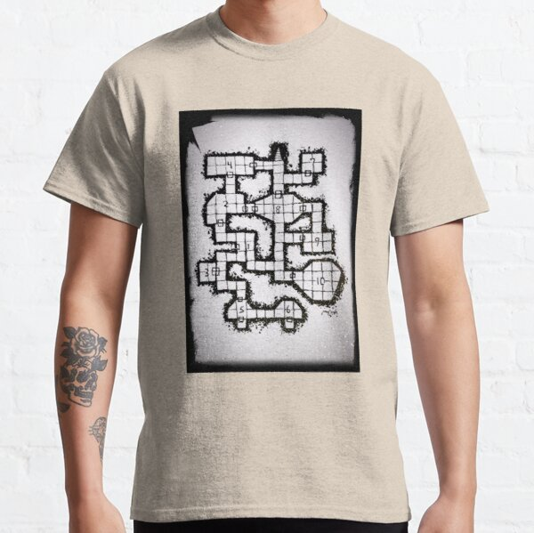 Old School Dungeon 001 Classic T-Shirt