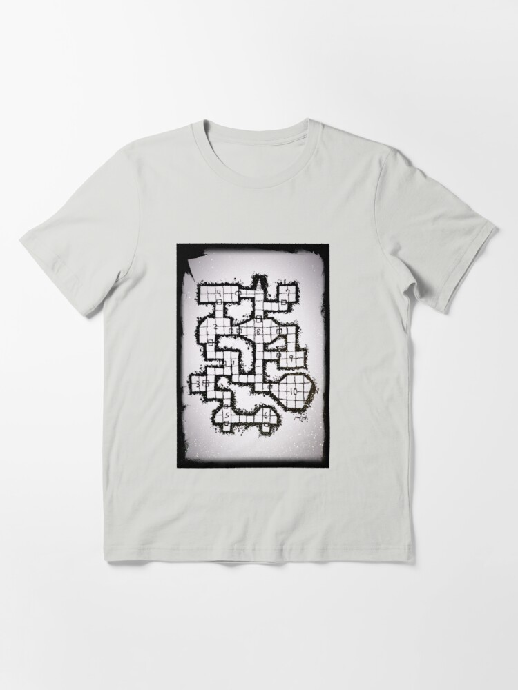 Alternate view of Old School Dungeon 001 Essential T-Shirt