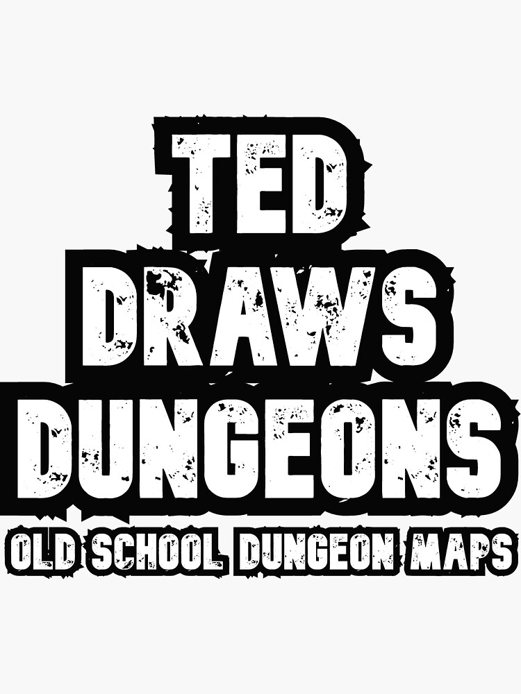 Ted Draws Dungeons Logo  by TFCreative