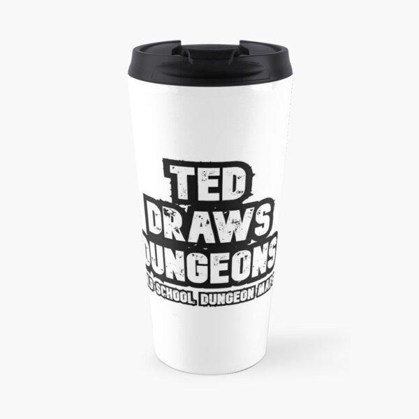 Ted Draws Dungeons Logo  Travel Mug