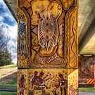 Cowra Painted Pylon 1 by Jason Ruth