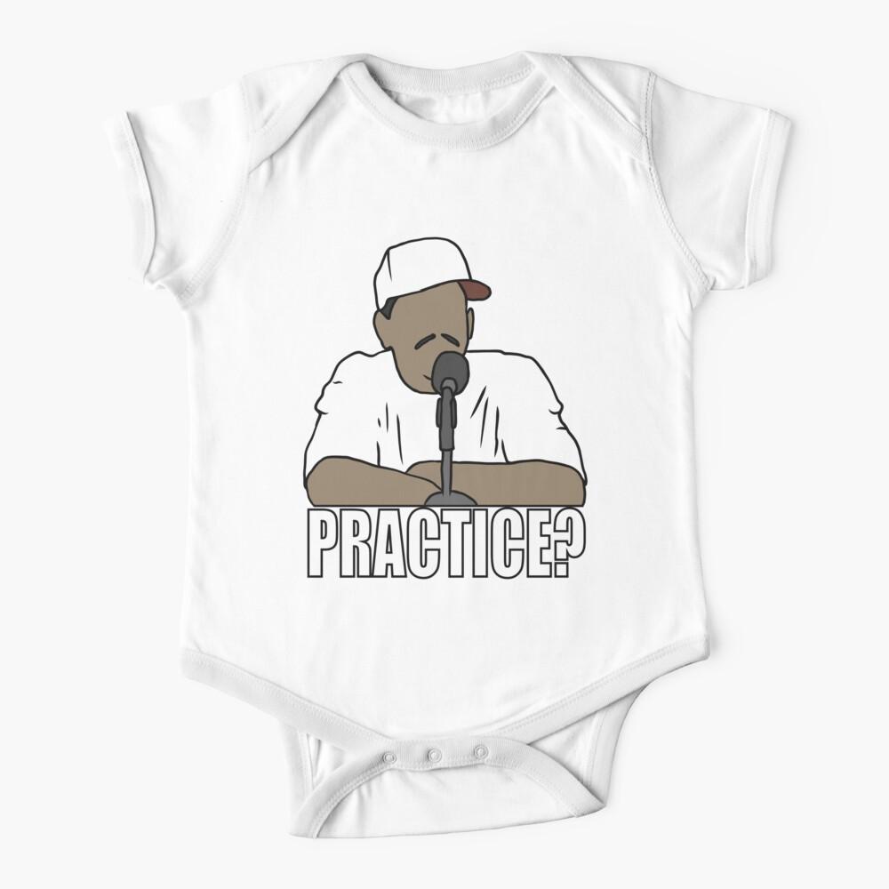 "Allen Iverson ""Practice?"" Baby One-Piece"