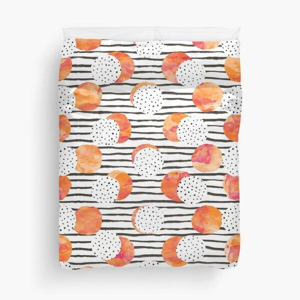 Fruity Orange Duvet Cover