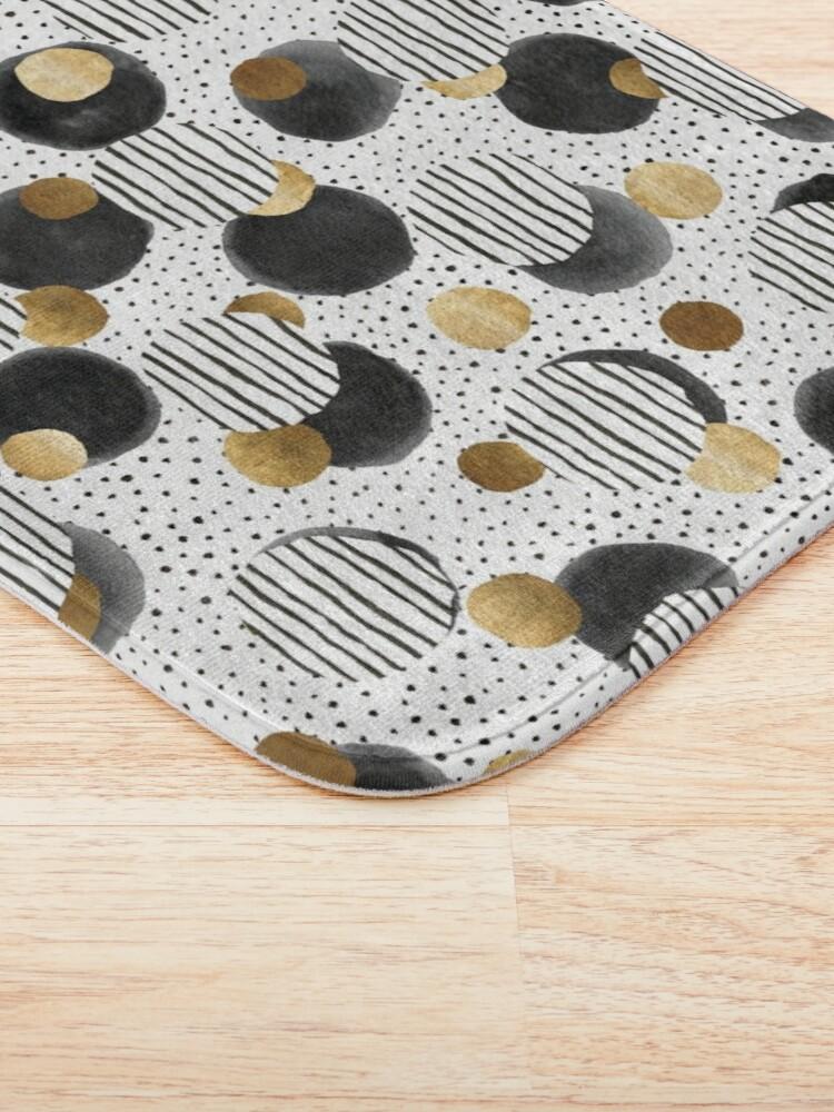 Alternate view of Classy Gold Bath Mat