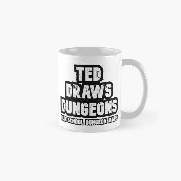 Ted Draws Dungeons Logo  Classic Mug
