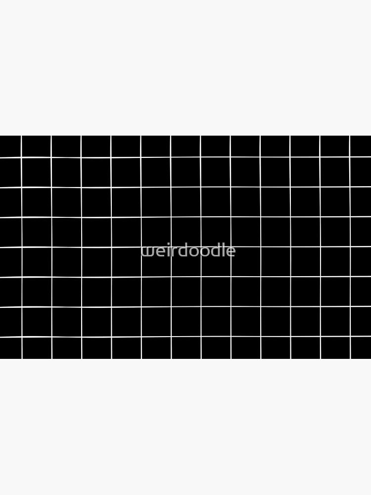 Black Grid by weirdoodle