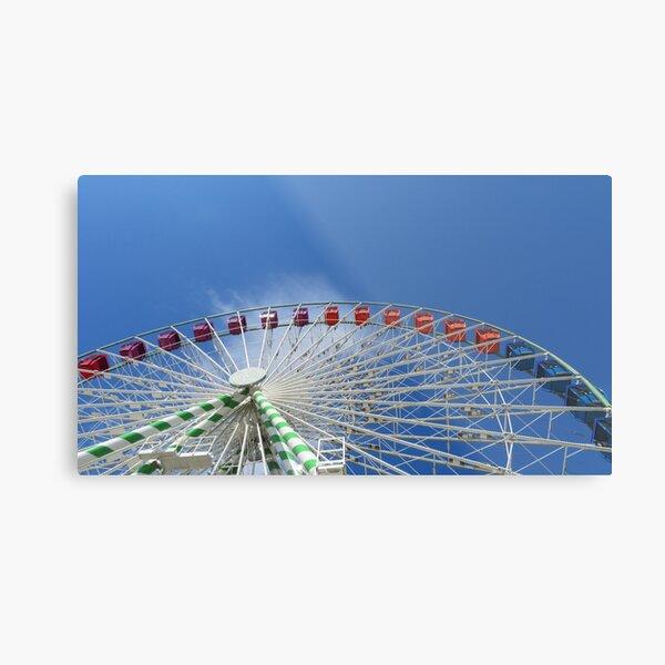 Ferris Wheel Florida State Fair Metal Print