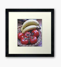 Healthy Eating Framed Print