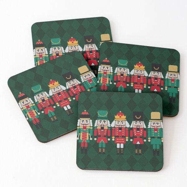 The Nutcrackers Coasters (Set of 4)