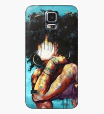 Naturally II BLUE Case/Skin for Samsung Galaxy