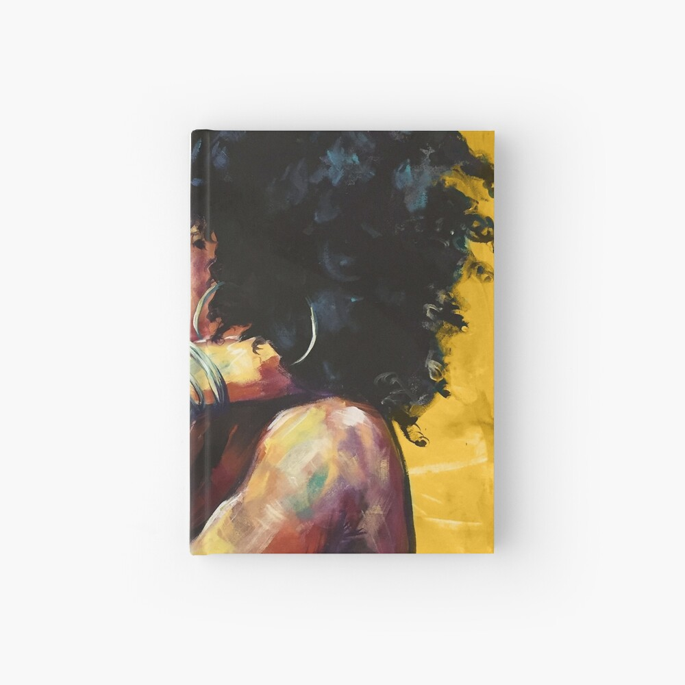 Naturally II GOLD Hardcover Journal