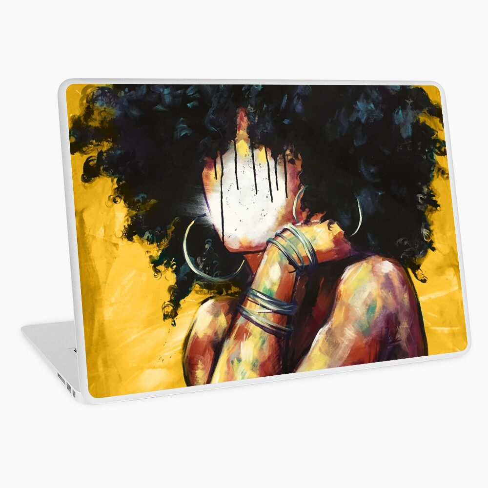 Naturally II GOLD Laptop Skin
