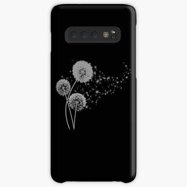 Dandelion Wishes on Black Samsung Galaxy Snap Case