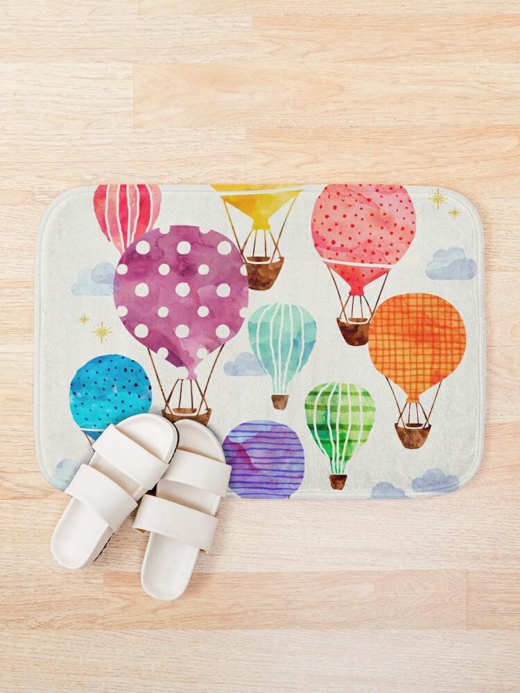 Alternate view of Hot Air Balloon Bath Mat