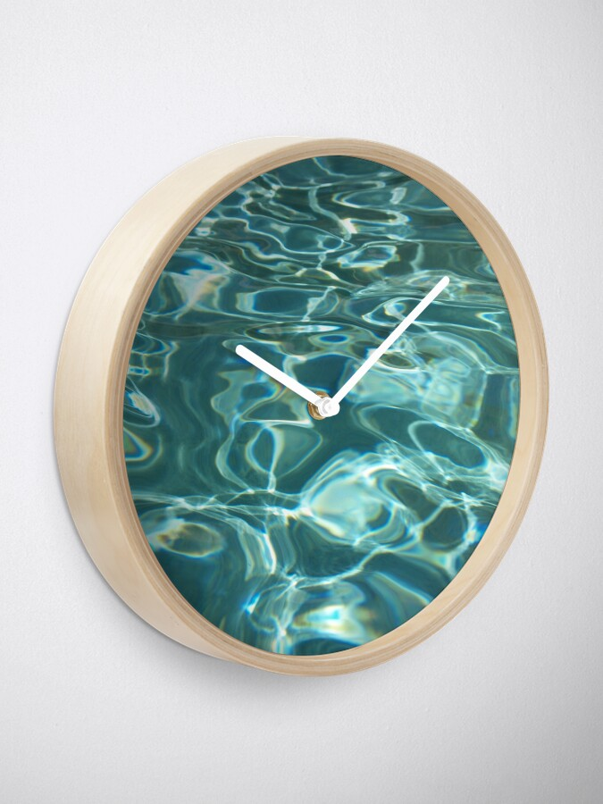 Alternate view of Aqua Clock