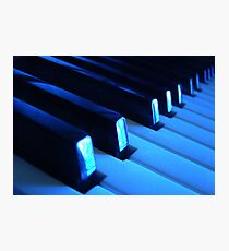 Blue Notes Photographic Print