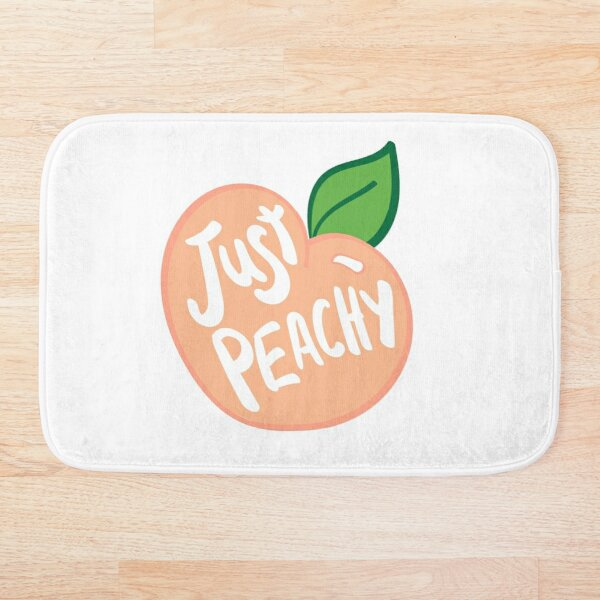 Just Peachy Bath Mat