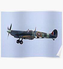 Spitfire Mk IX - Shoreham Airshow 2010 Poster