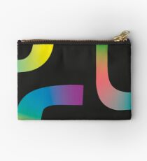 Abstract Gradient No. 7 Zipper Pouch