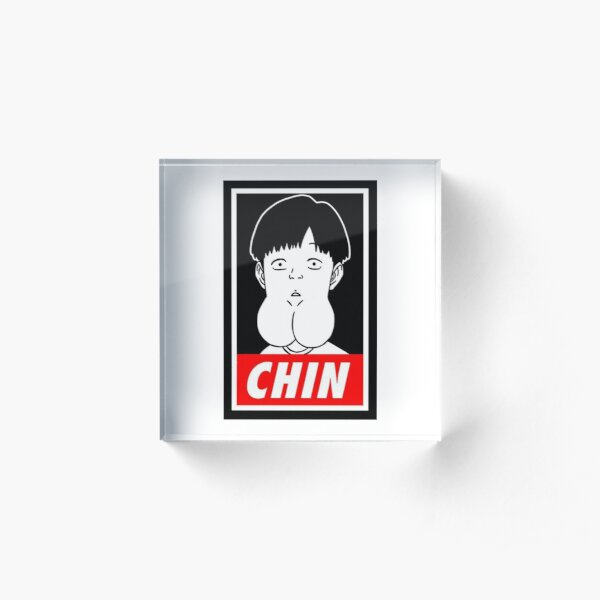 Chin Boy Acrylic Block