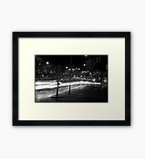 """Melbourne - """"Streetscape"""" #2 Framed Print"""