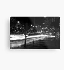 "Melbourne - ""Streetscape"" #2 Metal Print"