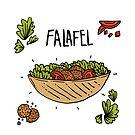 Falafel Love by auradesign