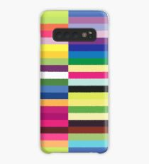 Compelling Colorful Striped Pattern Case/Skin for Samsung Galaxy