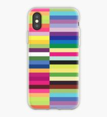 Compelling Colorful Striped Pattern iPhone Case
