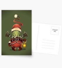 Happy Cthulhu Postcards